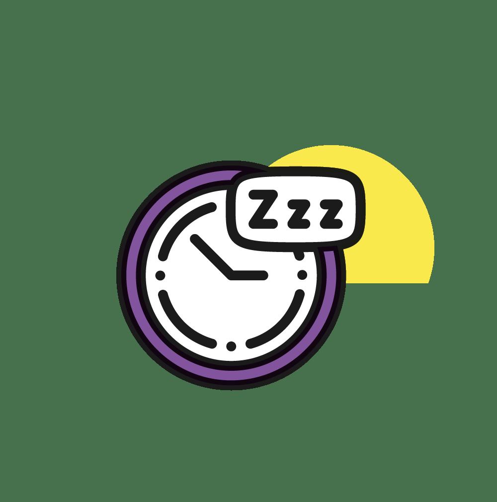 pictogram of sleep